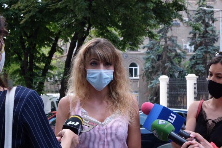 Маринана Сидоренко, лікар з медицини надзвичайних станів КНП ХОР