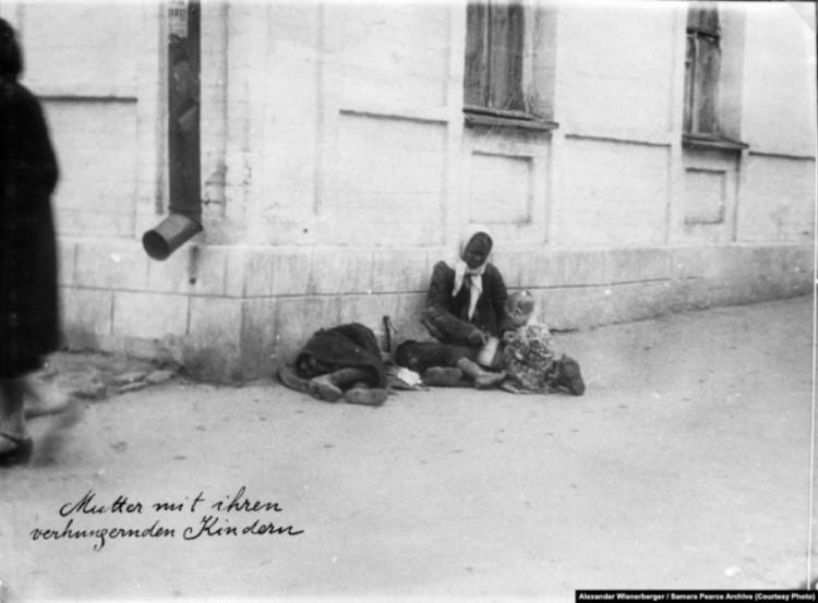 Селяни, яким вдалося прорватися до міста під час Голодомору