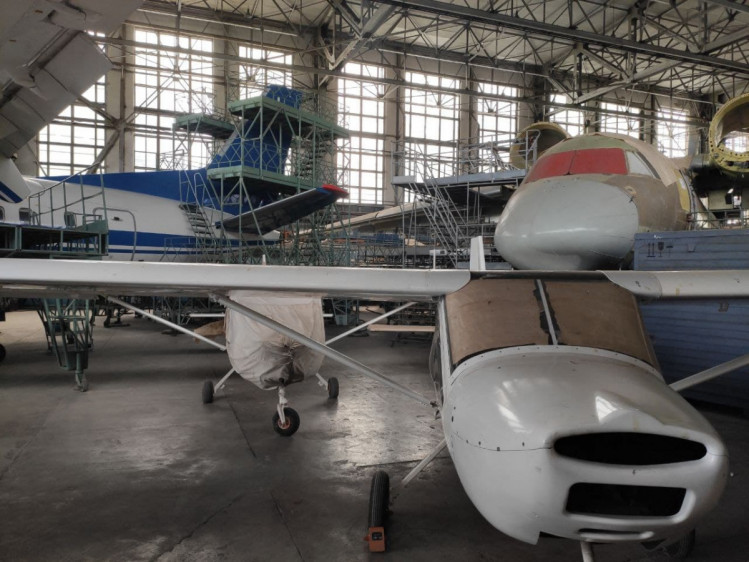 В Харькове производят самолет ХАЗ30