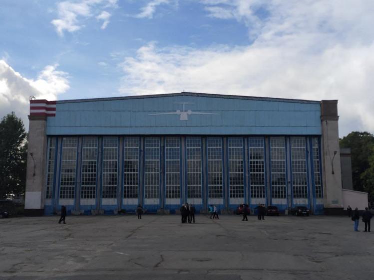 Сборочной цех Харьковского авиазавода