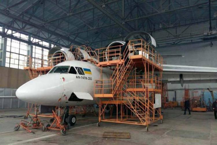 Харьковский авиазавод обслуживает украинские Ан-74