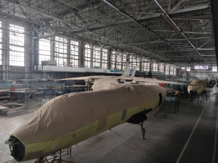 В Харькове остаются недостроенными самолеты для Ливии